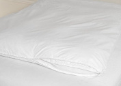 Feather Bed Cover White King