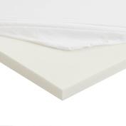 Sleep Innovations Anti-Allergy Memory Foam Mattress Topper, King