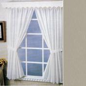 Linen Fabric Water Repellent Window Curtain
