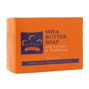Nubian Heritage Shea Butter Soap, with Lavender & Wildflowers 150ml
