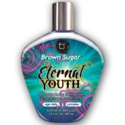 Tan Incorporated Brown Sugar Eternal Youth Biologic Energy Bronzing Tanning Lotion with Ultra Anti Ageing and Skin Firming Complex 400ml by Tan Incorporated