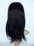 Sina Beauty High density 30cm natural straight hair wig #1 straight brazilian hair full lace wig with baby hair no shedding no tangle hair wigs fastshipping