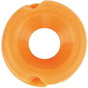 Pine Ridge Archery Feather Peep Sight with 0.5cm Aperture, Orange