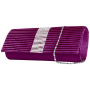 VanGoddy Palki Collection Women's Diamond Clutch Handbag Carrying Case