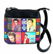 Elvis Presley Cross Body Bag, Collage, NEW 2015