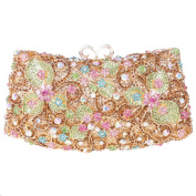 Fawziya Butterfly Clutch Chain Purse Women Rhinestone Clutch Evening Bag