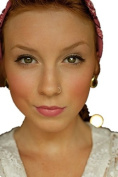 Ardisle 6MM Nose Ring Hoop Surgical Steel Silver Piercing Stud Thin Small Tiny Cartilage