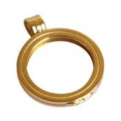 Medaillon gold plated sizeS