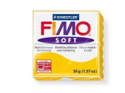 Fimo Soft Sunflower 56g Polymer Clay Block, Fimo Colour Reference 16 -