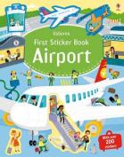 First Sticker Book Airports