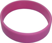 """Hoerev® For Children's, Age 4-9, 6.3""""(160mm), (Price/10 pieces) Blank Silicone Wristbands, Charity Wristbands, Silicone Bracelets"""
