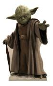 Star Wars - Life-sized cardboard cutout/standee of Yoda