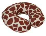 Motionperformance Essentials Super Velour Luxury Memory Foam Comfort Neck Support Cushion (Travelling, Car, Plane, TV, Reading)