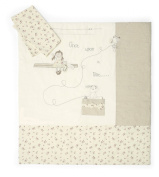Mamas and Papas Once Upon a Time Girls Quilt and Pillowcase Set
