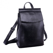 Missmay 2015 Spring Women's Soft Genuine Leather Purse Backpack Travel Casual Sports