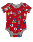 Hatley Baby Boys Infant AOP One Piece Robots Romper