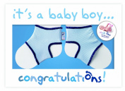 Sock Ons Congratulations Boy Gift Card