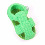 JTC Baby Girls Boys Sandal Crochet Shoes Infant First Walking Shoes Gift For Baby 4 Colours