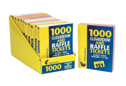 2 X 1000 Cloakroom and Raffle Tickects