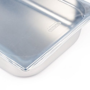 Araven Silicone Lid Large Suitable for use with any GN 1/1 pan. Heat resistant to 200°C.