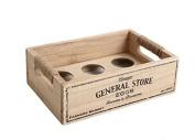 Vintage Rustic Style 'General Store' Egg Crate. Egg Rack Holder.