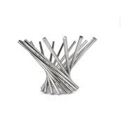 Fashion Home Basics Fruit Basket Stainless Steel Fruit Bowl Chrome