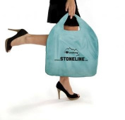 Stoneline City Bag, Collapsible, 69 x 47 cm, Blue Sky, Shopping Bag