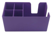 Purple Bar Caddy Classic | Plastic Bar Caddy Purple, Bar Aide, Bar Storage, Bar Organiser, Bar Condiment Caddy, Napkin Holder, Straw Holder by Chabias Ltd