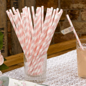 With Love - Pack of 25 Paper Straws 672403