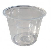 Thali Outlet - 50 x Bomb Shots Clear CE Polystyrene Cups Disposable Plastic Glasses Drinking Mixers & Chasers Ideal for Red Bull & Jagarbomb Jagerbomb Jagermeister - 60ml / 25ml