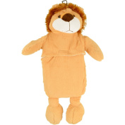 Lion Hot Water Bottle - 1L Hot Water Bottle with Plush Cover