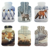 Snugg Animal Photo Plush Fleece Microwavable Lavender Mini Wheat Bottle Heat Pack - 6 designs