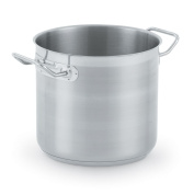 Vollrath 3501 Optio Stainless Steel Stock Pots with Domed Cover, 7.6l