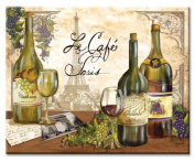 CounterArt Reserve Vintage Glass Cutting Board, 38cm by 30cm