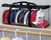 Baseball Cap Hat Storage Bag Zipper Shut Organiser