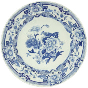 Entertaining with Caspari Plate Die Cut Placemats, Blue and White, 4-Pack