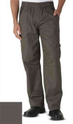 Uncommon Threads 4102 Adult's Grunge Cargo Chef Pant Slate X-Large