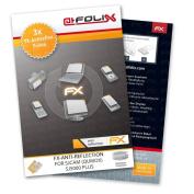 atFoliX Screen Protection SJCAM (QUMOX) SJ5000 Plus - Set of 3 - FX-Antireflex anti-reflective
