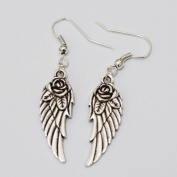 Charm Silver Angel Wing Earrings Silver Angel Wing Earrings Jewellery Best Gift for Woman Everyday Gift
