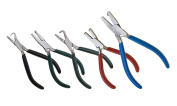 Eurotool 5 Piece Dimple Plier Set in Zippered Case