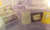 Craft Essentials Create 12 Cards and Envelope Birthday Thank You Card File Organiser