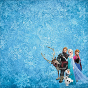 Disney Paper 30cm x 30cm -Frozen Group