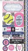 Adornit Stickers - Softball Attitude
