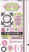 Adornit Stickers - Volleyball Attitude
