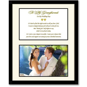 Thank You Wedding Gift for Grandparents - Mat Board with Poem and Photo Area - Add Photo