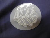 Qty-2 Leaf Soap or Plaster Garden Moulds 4764