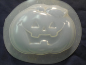 Qty-2 Halloween Pumpkin Soap or Plaster Mould 4611