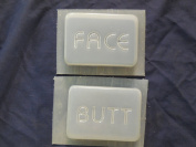 Face and Butt Soap or Plaster Plaque Mould Set 4521