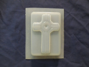 Qty-2 Cross Soap or Plaster Plaqeue Mould 4513
