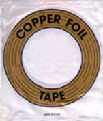 0.6cm Edco Copper Back Foil 1.25 MIL THICK